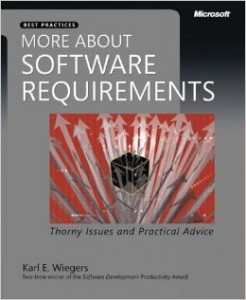 more about software requirements karl wiegers
